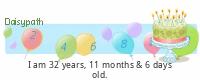 Daisypath Happy Birthday (8OY1)