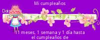 Daisypath tickers Feliz Cumpleaños