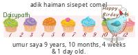 Daisypath Happy Birthday (yRP9)